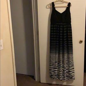 Ashley Stewart Women's maxi dress EUC